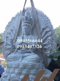 Tượng Bồ Tát Thiên Thủ Thiên Nhãn bằng đá