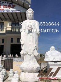 Tượng Phật Đá A Di Đà